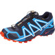 Salomon M's Speedcross 4 GTX Shoes navy blazer/cloisonné/flame
